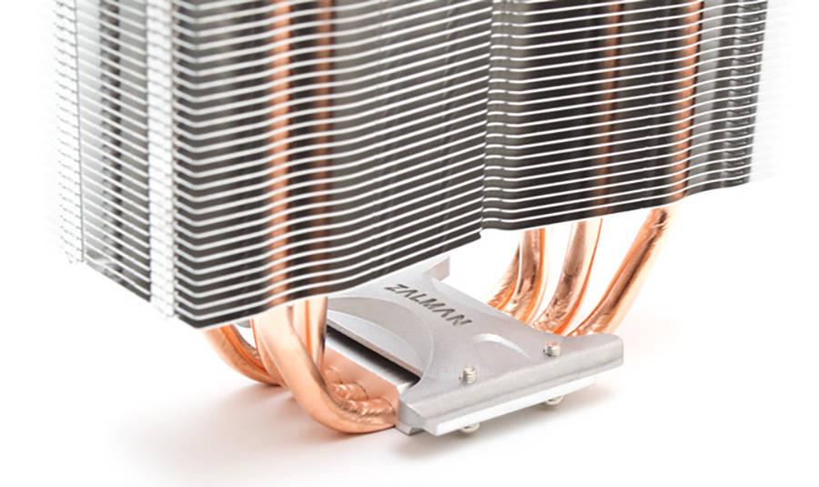 Нижняя часть радиатора Zalman CNPS10X Optima II White