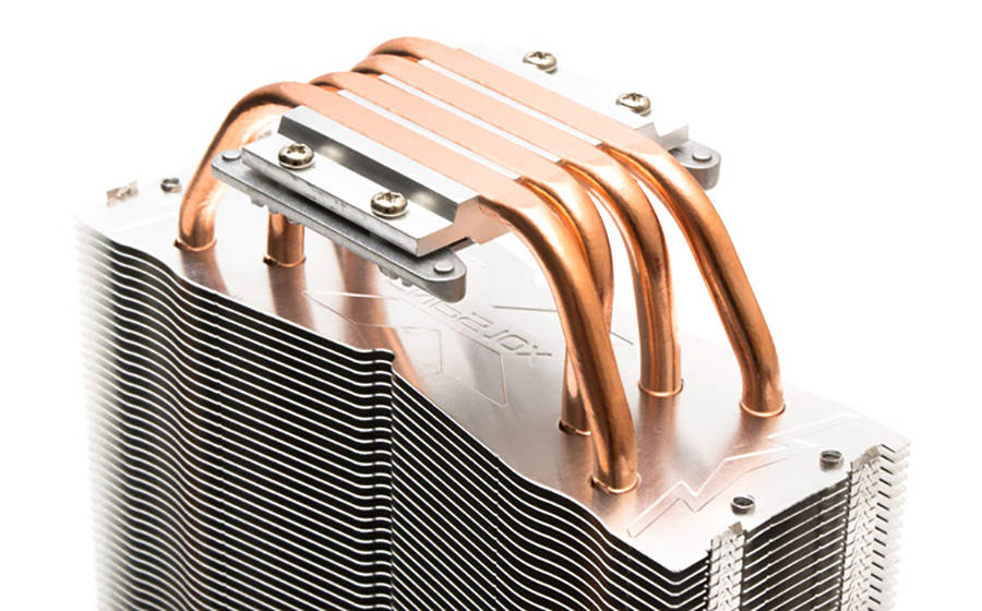 Нижняя часть радиатора Zalman CNPS10X Optima II White. Фото 2
