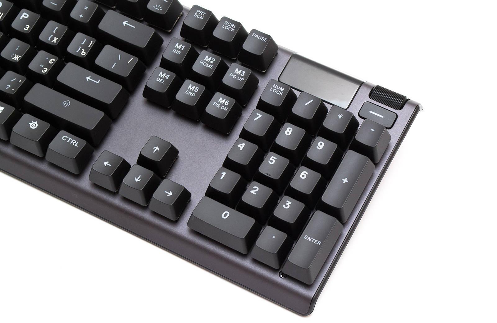 Клавиатура SteelSeries Apex 7. Фото 5