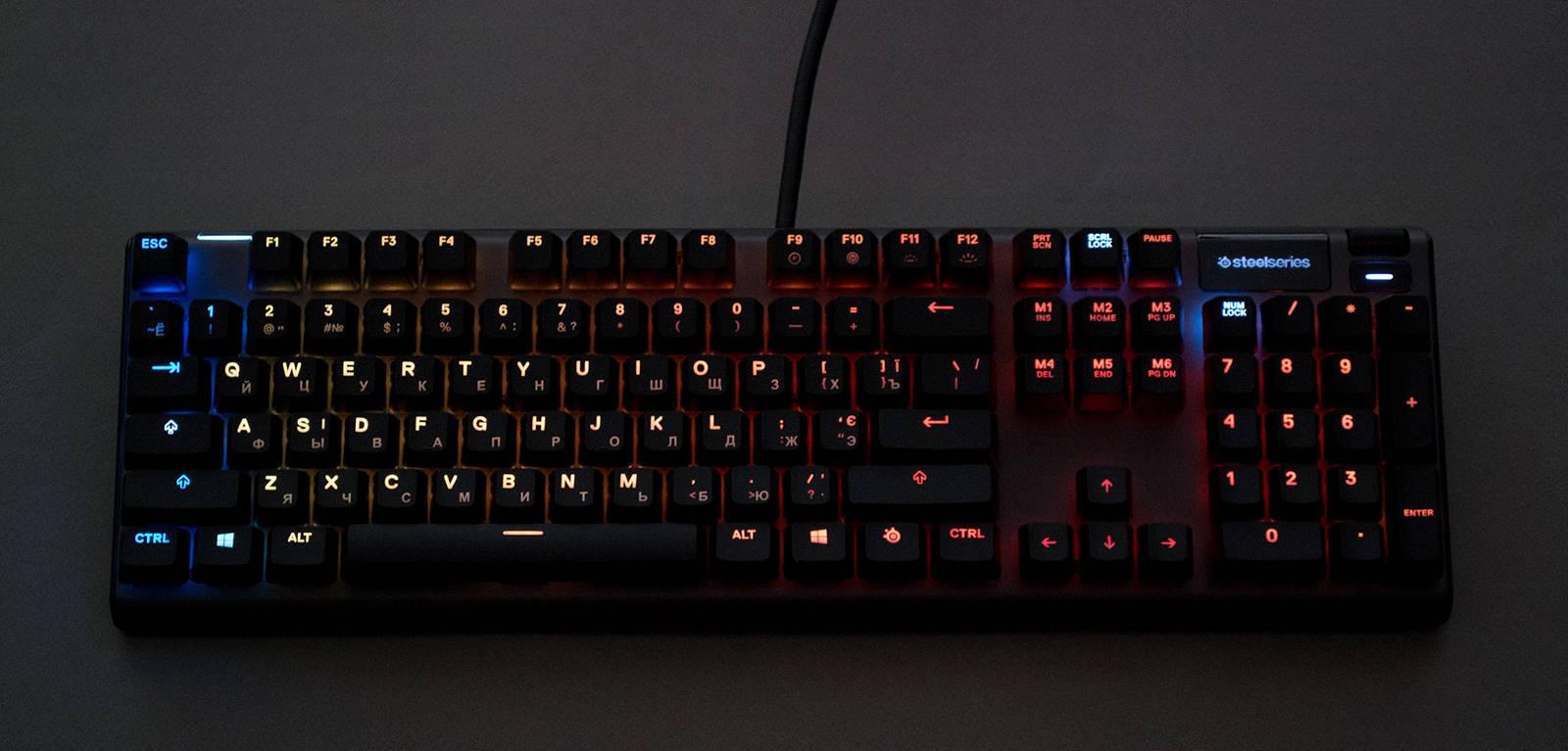 Клавиатура SteelSeries Apex 7. Фото 15