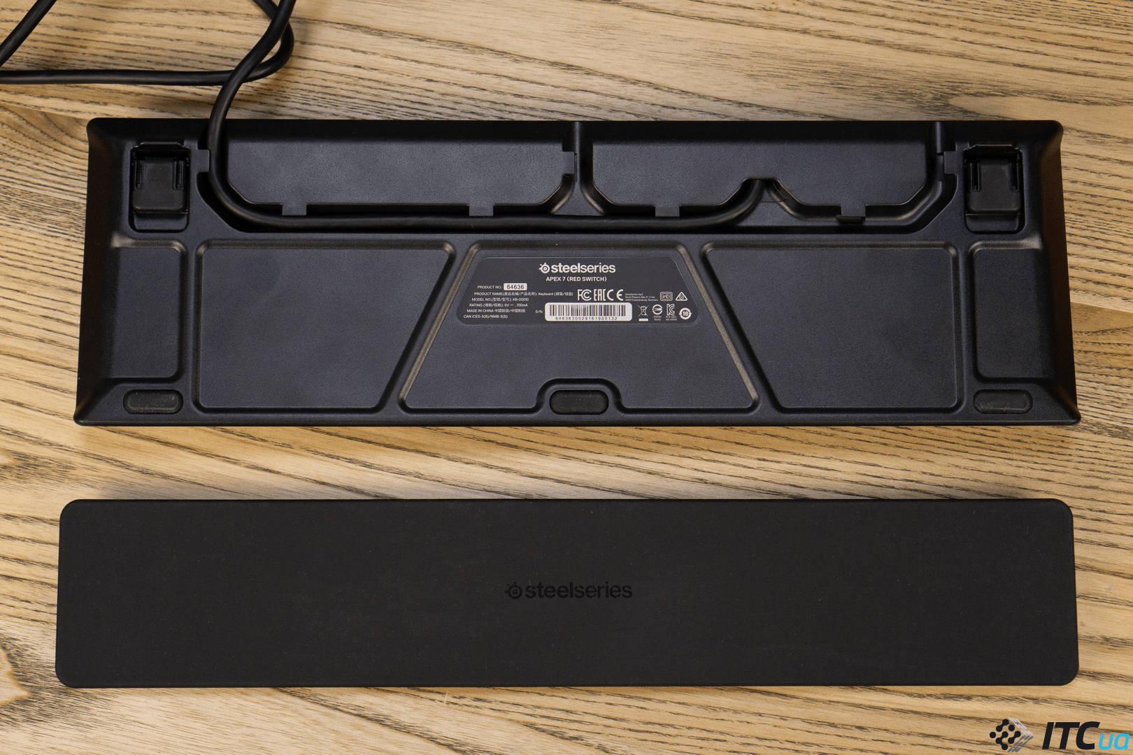 Клавиатура SteelSeries Apex 7. Фото 6
