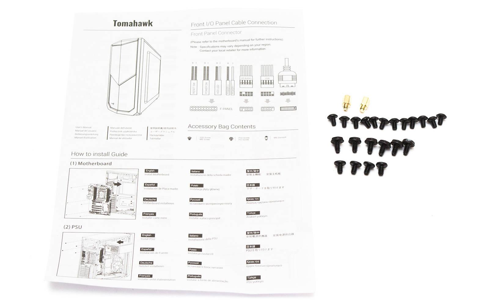 Инструкция Aerocool Tomahawk-A. Фото 3