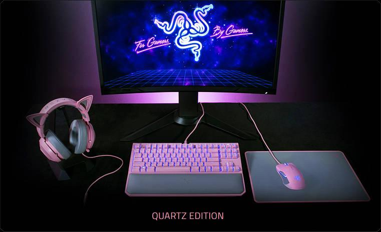 Коллекция Razer Quartz — все розовые девайсы в одном месте