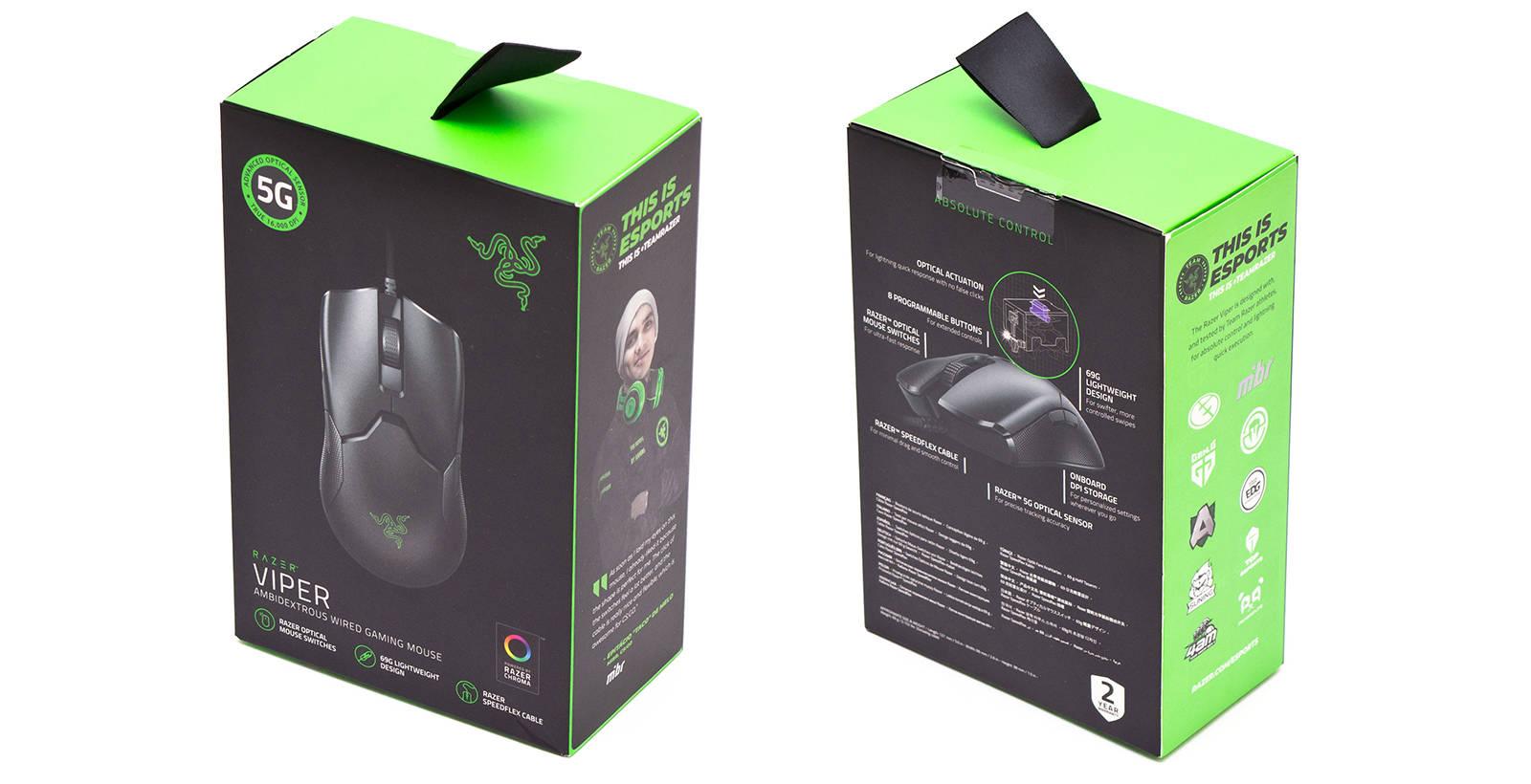 Упаковка Razer Viper