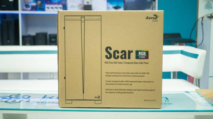 Корпус AeroCool Scar RGB. Фото 2