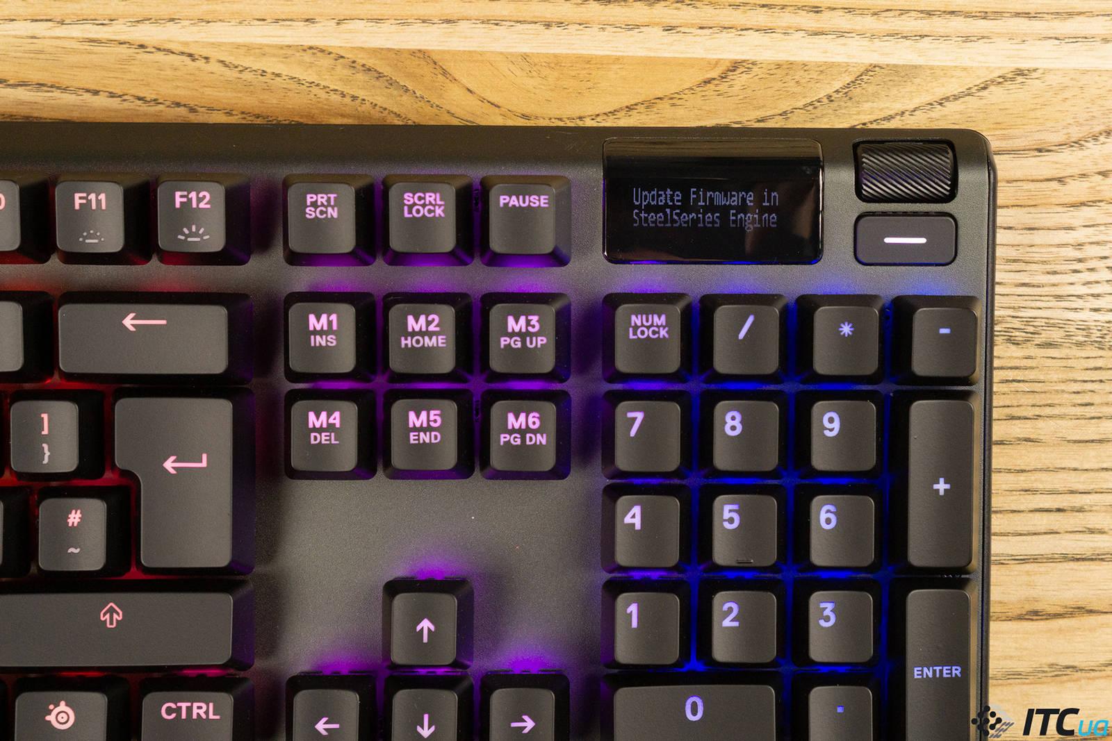Клавиатура SteelSeries Apex Pro. Фото 16