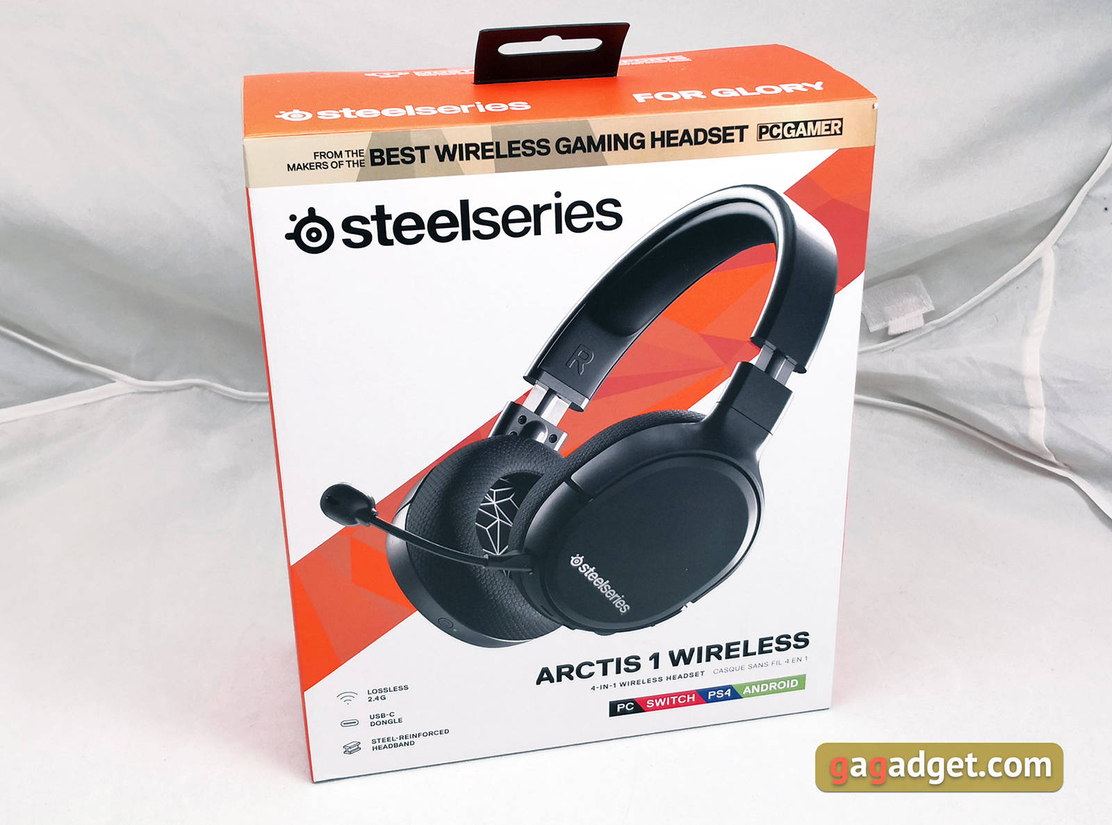 Гарнитура SteelSeries Arctis 1 Wireless. Фото 3