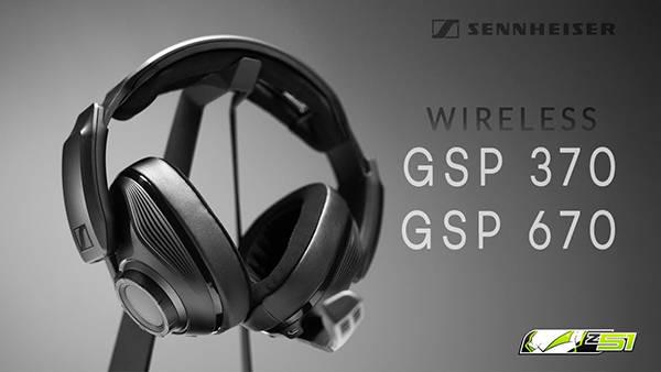 Экспресс-обзор гарнитур Sennheiser GSP 670 & 370 Wireless | GIVEAWAY