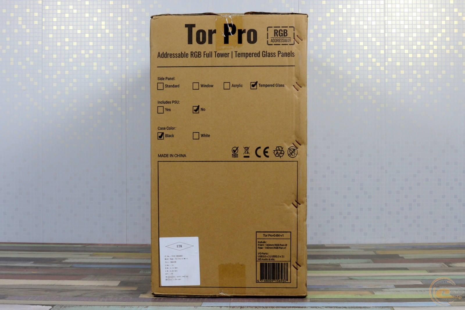 Коробка Aerocool Tor Pro. Фото 3