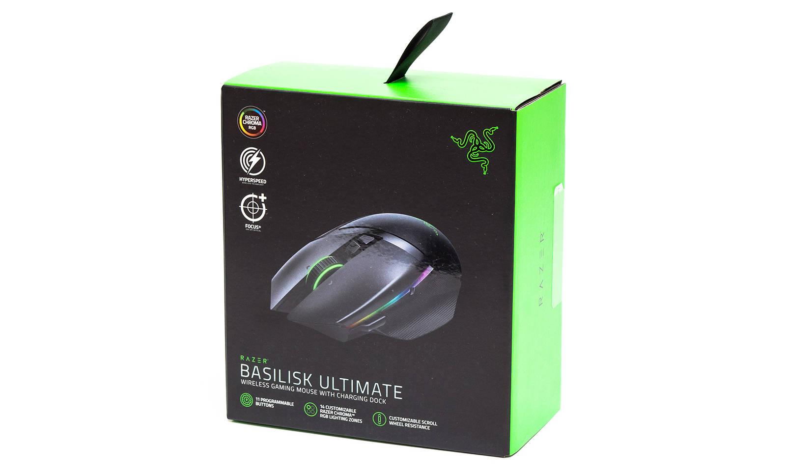 Мышь Razer Basilisk Ultimate. Фото 2
