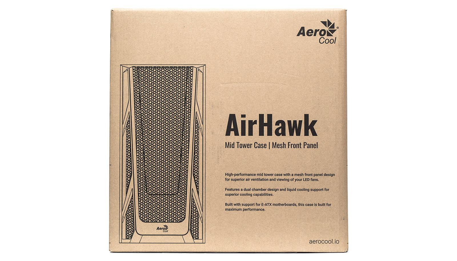 Корпус Aerocool AirHawk Duo. Фото 2