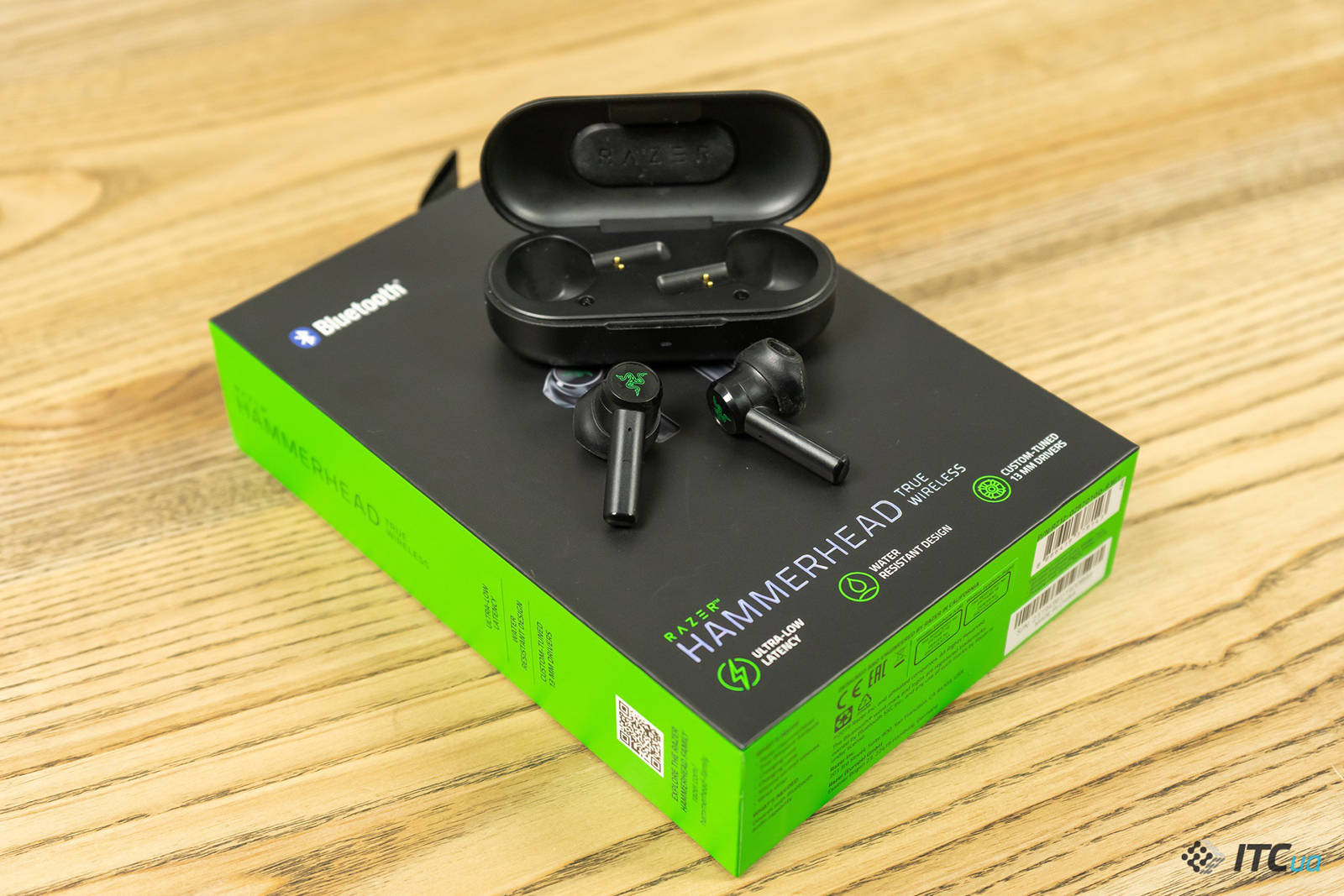 Гарнитура Razer Hammerhead True Wireless. Фото 6