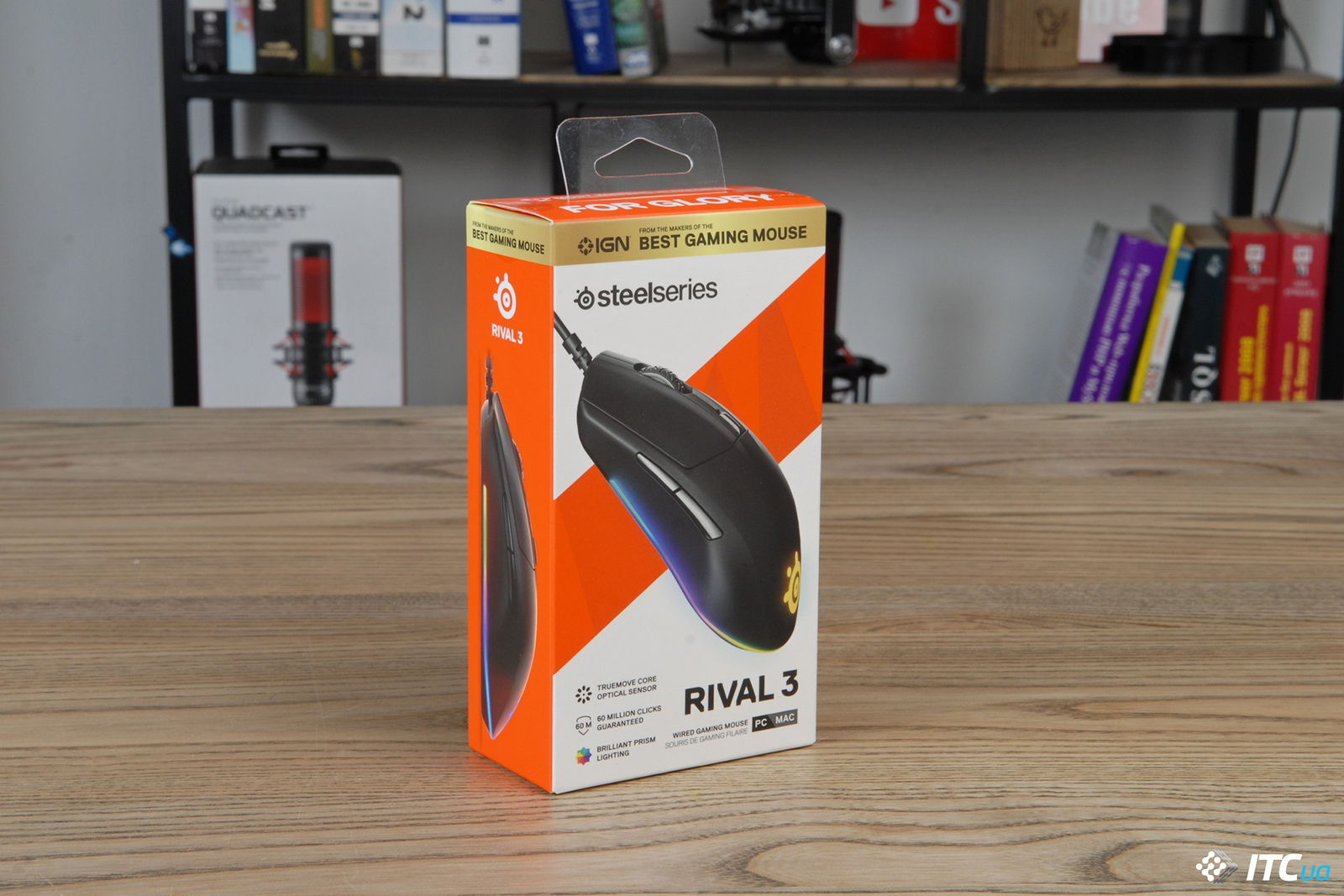 Мышшь SteelSeries Rival 3. Фото 1