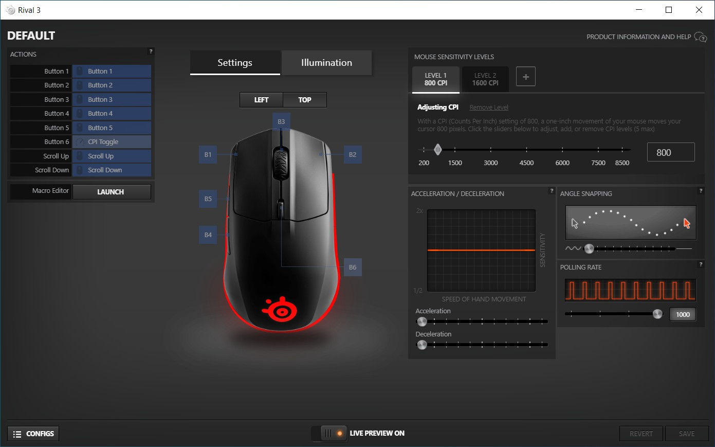 Мышшь SteelSeries Rival 3. Фото 19