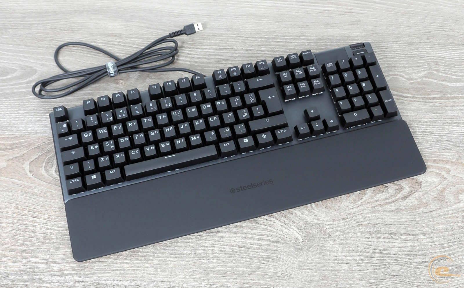 Клавиатура SteelSeries APEX 5. Фото 12