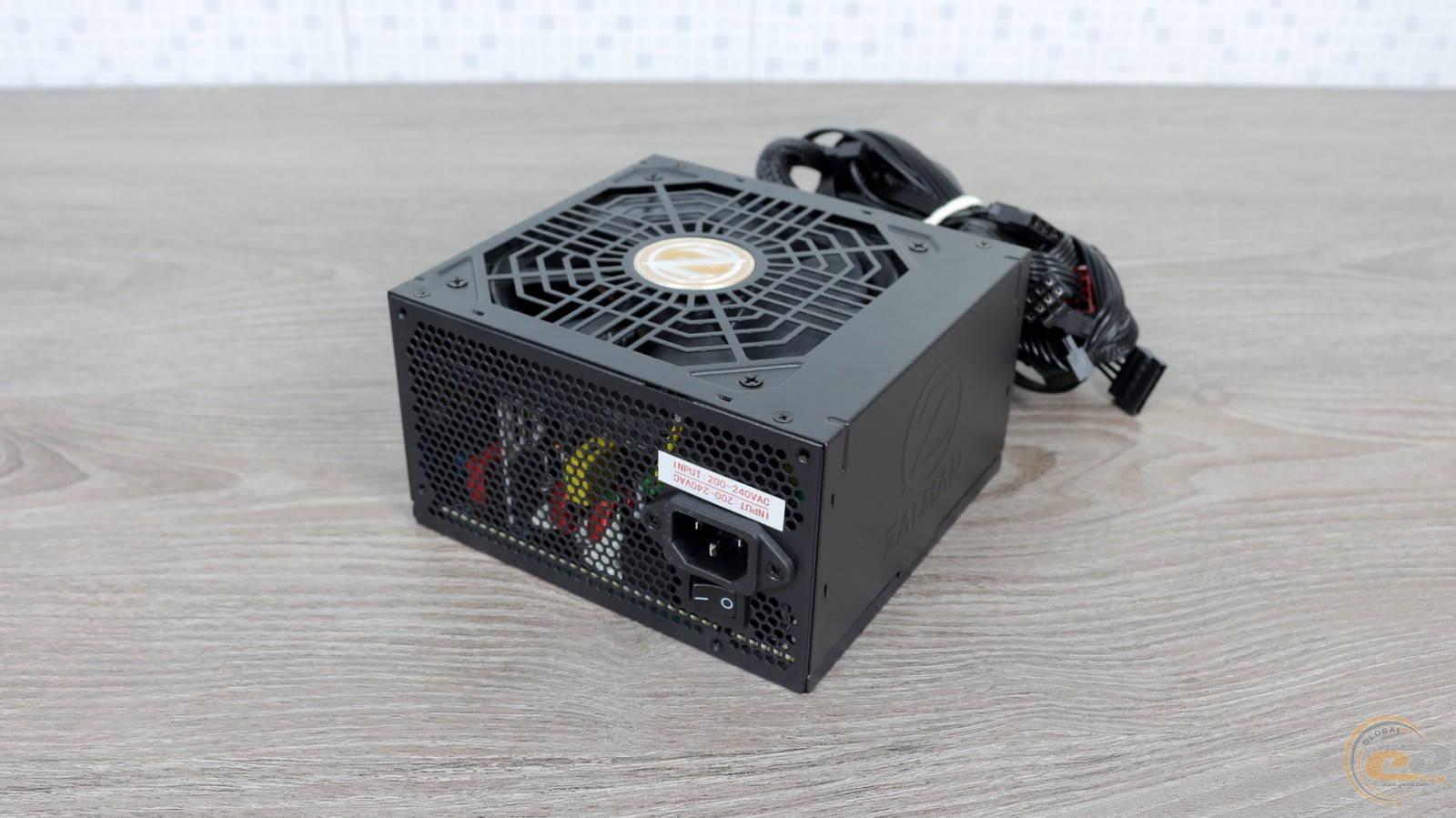 Блок питания Zalman GigaMax 650W. Фото 1