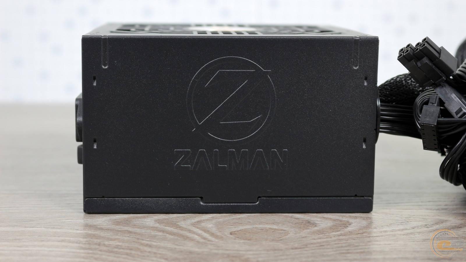 Блок питания Zalman GigaMax 650W. Фото 11