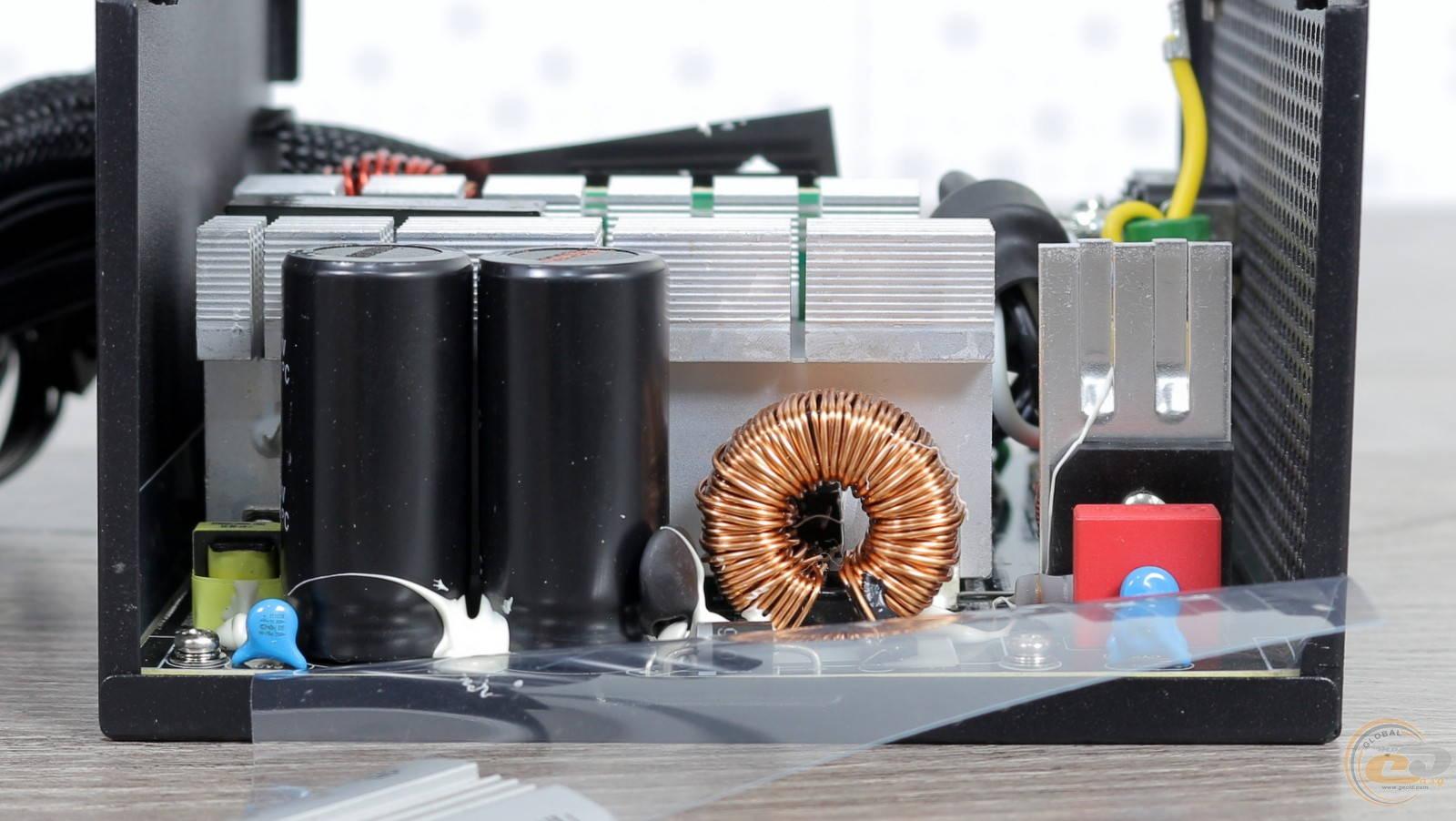 Блок питания Zalman GigaMax 650W. Фото 21