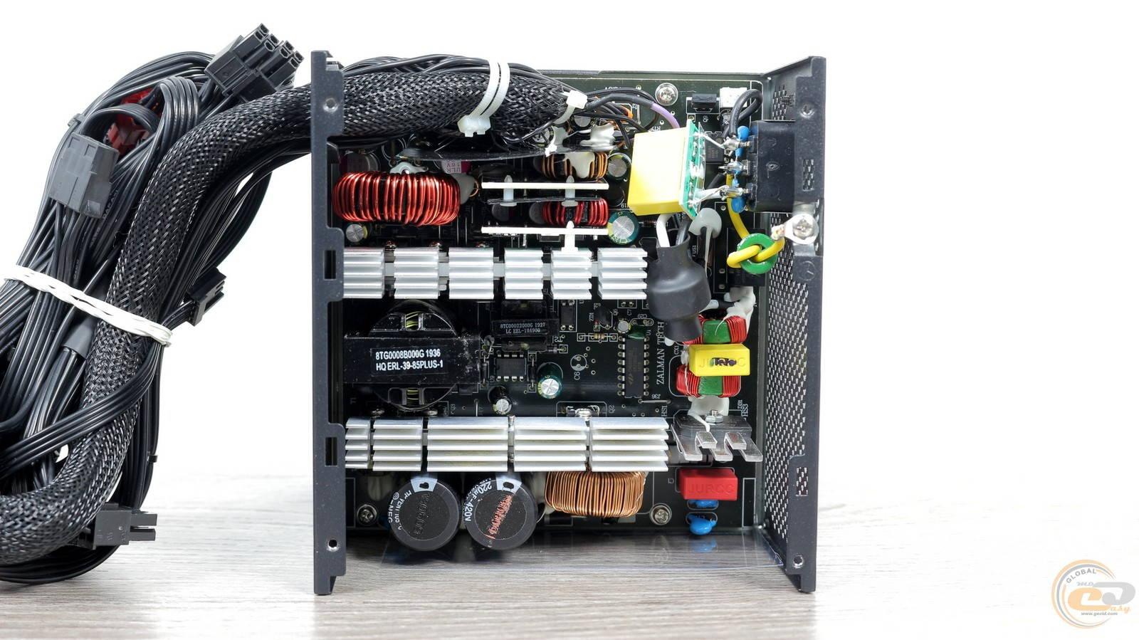 Блок питания Zalman GigaMax 650W. Фото 22