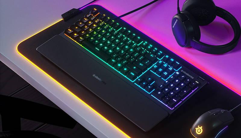 Обзор мембранной игровой клавиатуры SteelSeries Apex 3