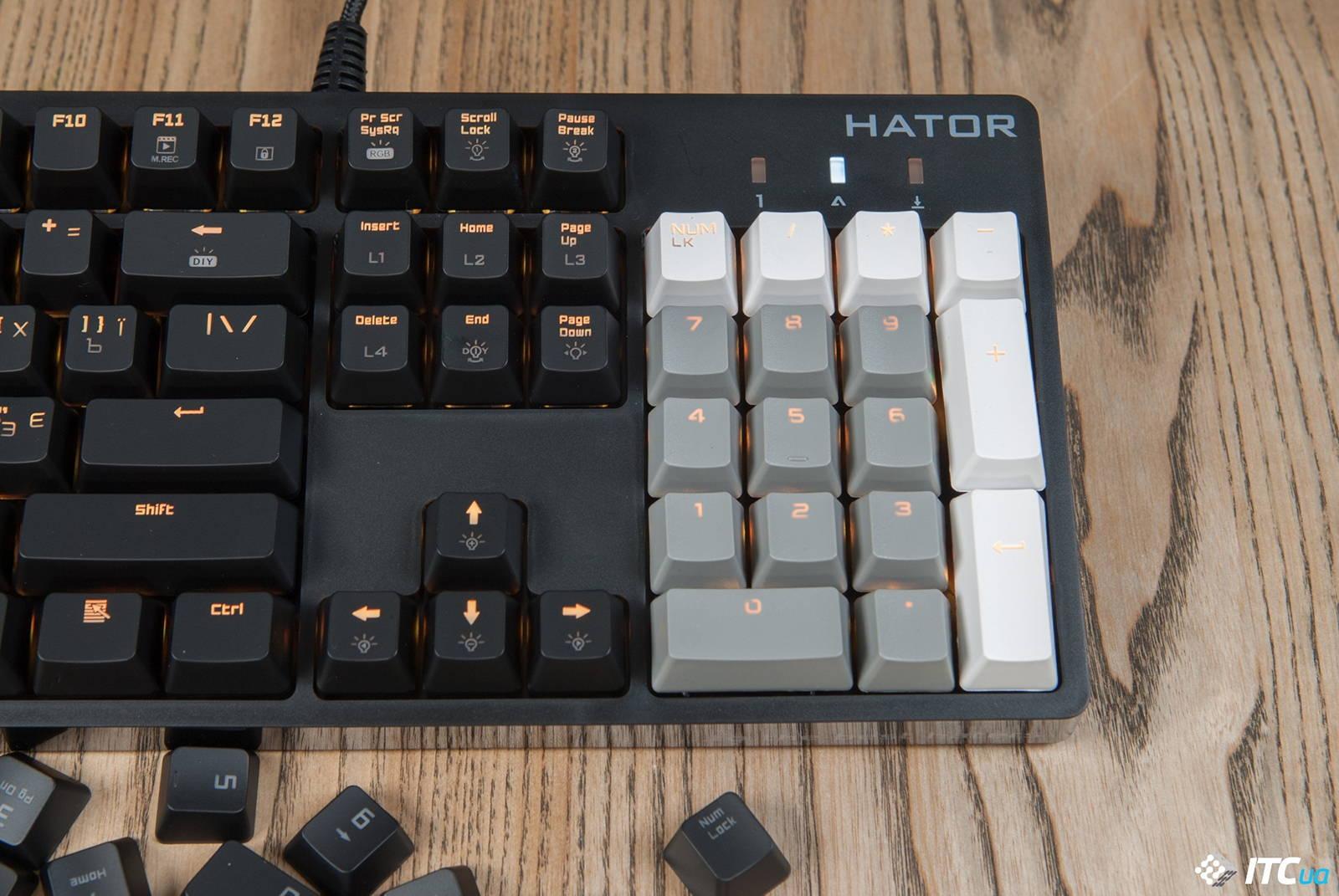 Клавиатура HATOR Rockfall EVO. Фото 12