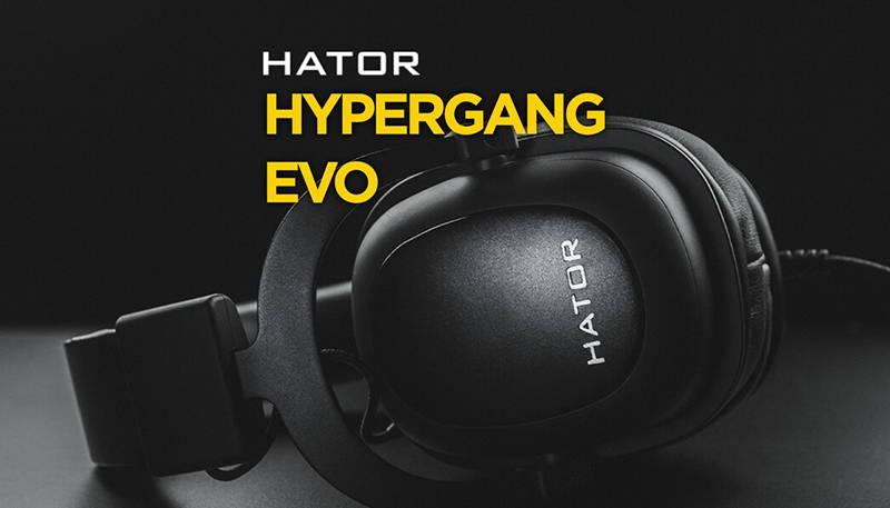 Обзор игровой гарнитуры Hator Hypergang EVO