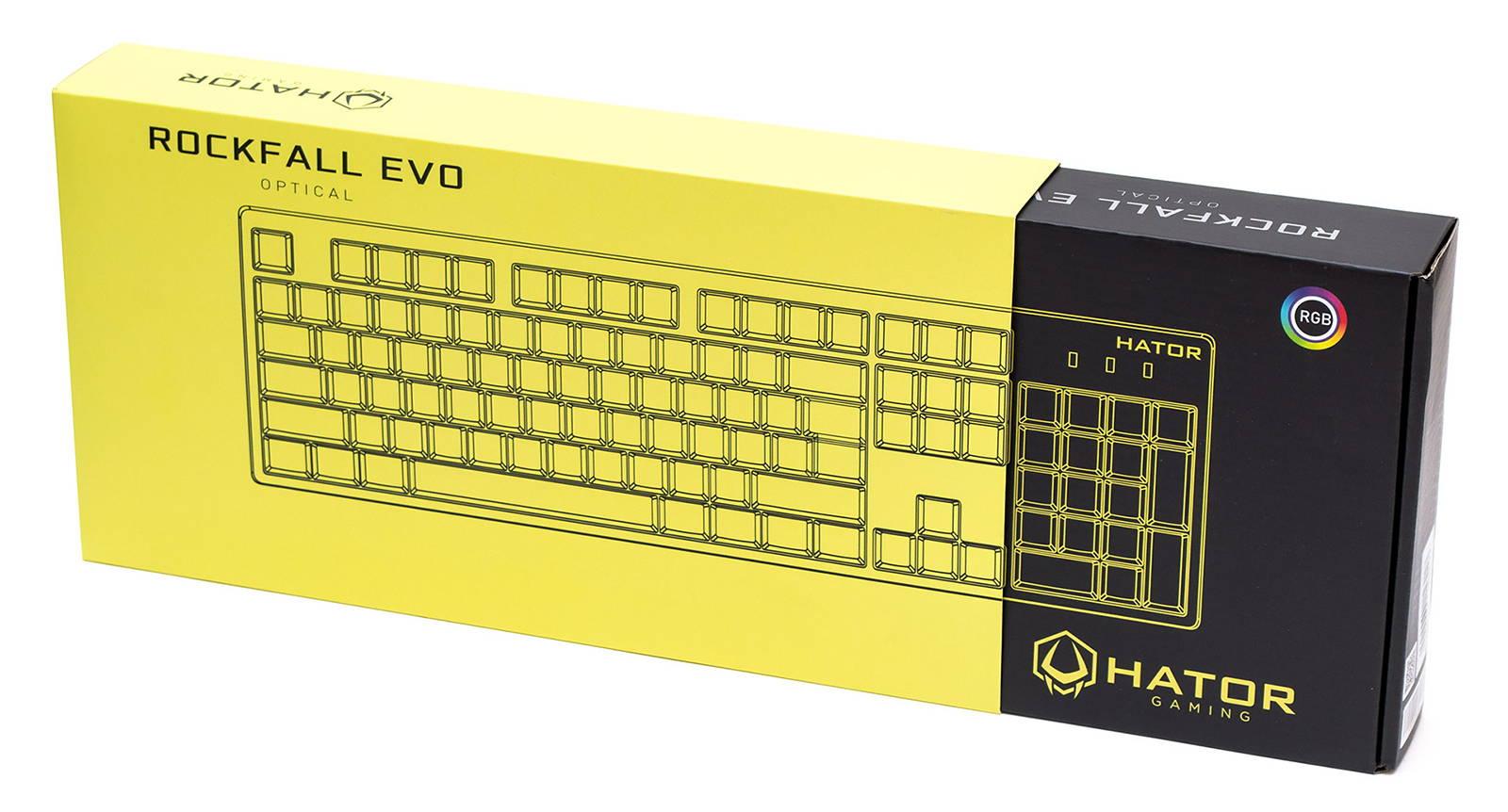 Клавиатура Hator Rockfall EVO. Фото 2