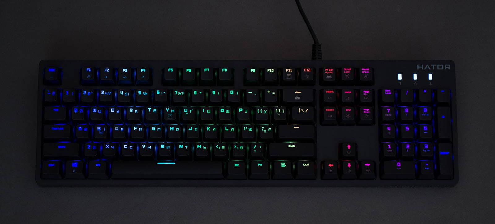 Клавиатура Hator Rockfall EVO. Фото 18