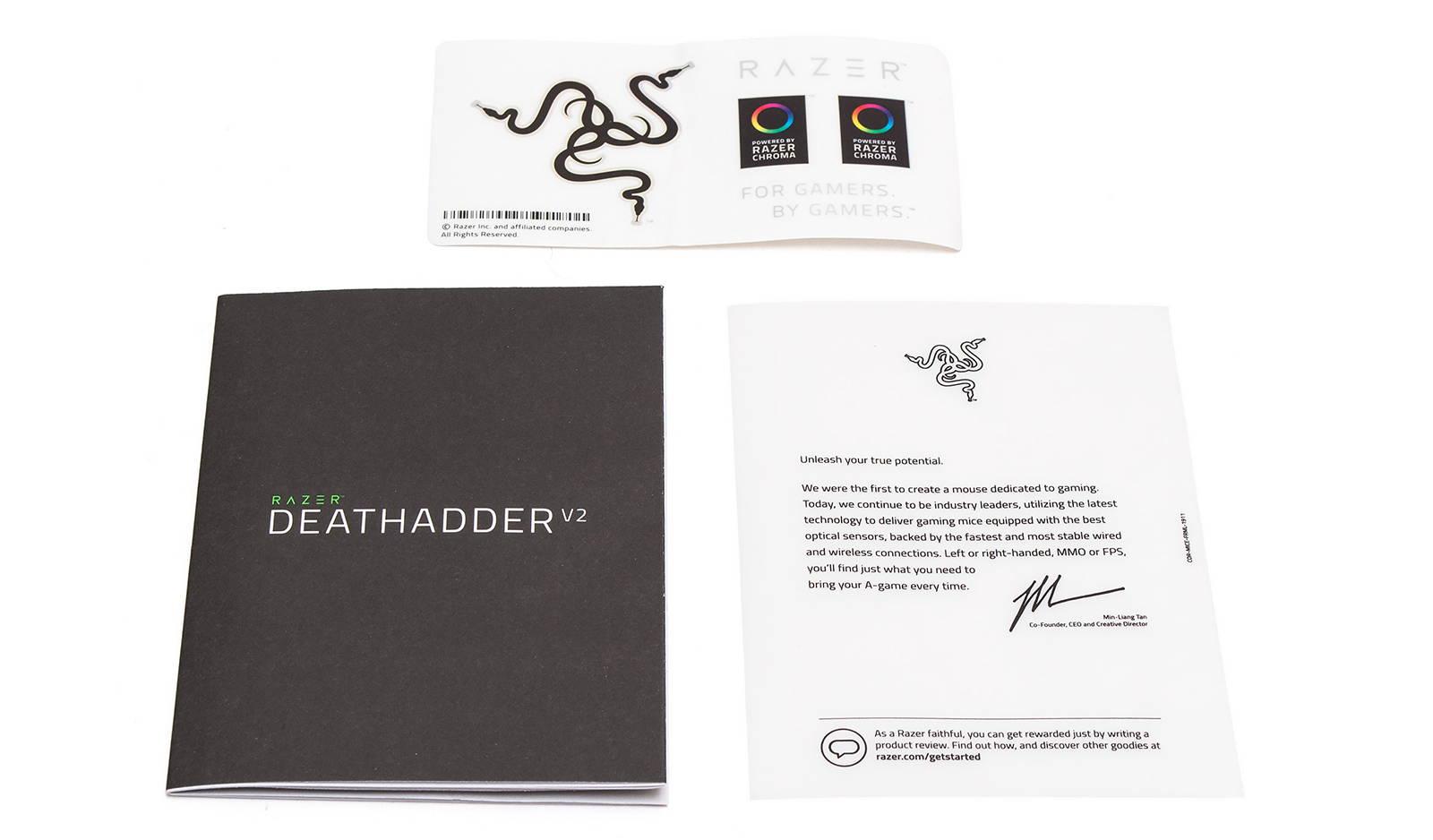 Мышка Razer DeathAdder V2. Фото 3