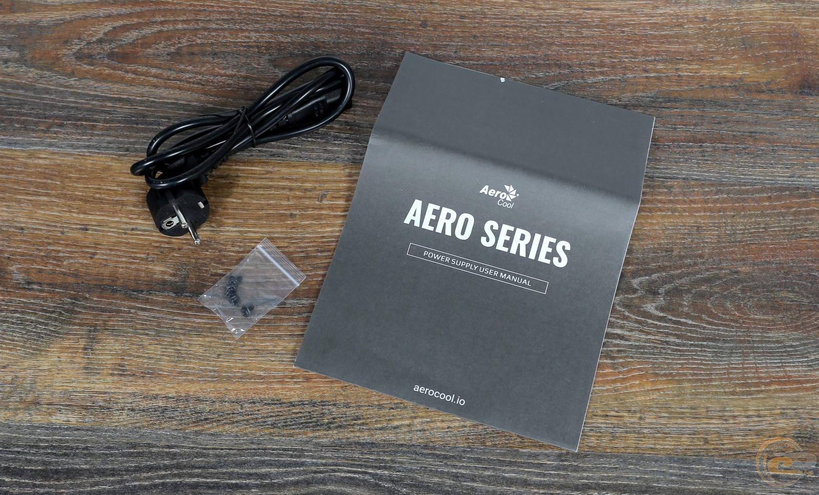 Блок питания Aerocool AERO BRONZE 750W. Фото 7