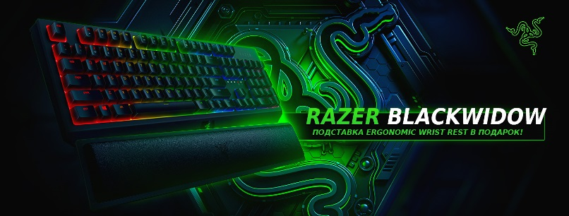 Подарок к клавиатуре Razer BlackWidow!