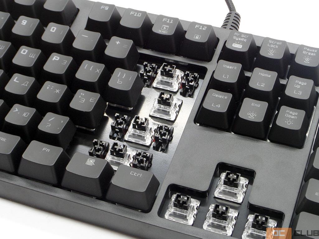 Клавиатура Hator Rockfall EVO. Фото 20