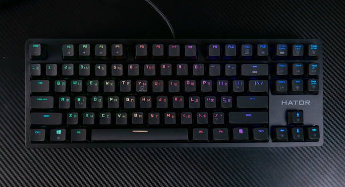 Клавиатура Hator Rockfall EVO TKL. Фото 1