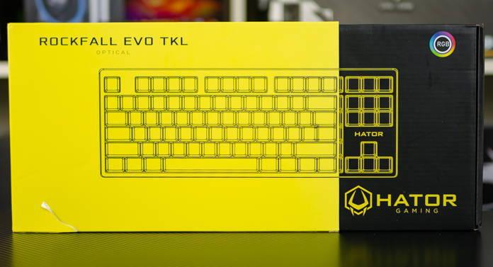 Клавиатура Hator Rockfall EVO TKL. Фото 2