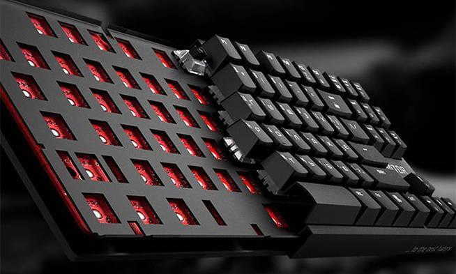 Клавиатура Hator Rockfall EVO TKL. Фото 5