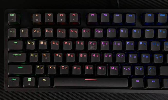 Клавиатура Hator Rockfall EVO TKL. Фото 11