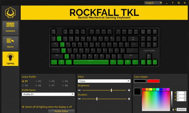Клавиатура Hator Rockfall EVO TKL. Фото 14