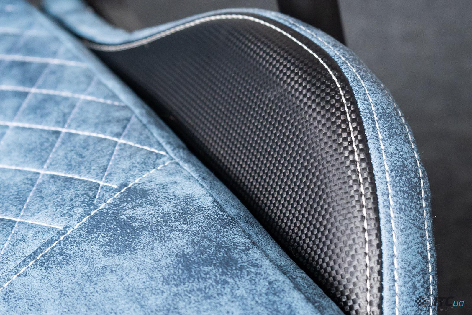 Игровое кресло AeroCool Duke Steel Blue. Фото 5