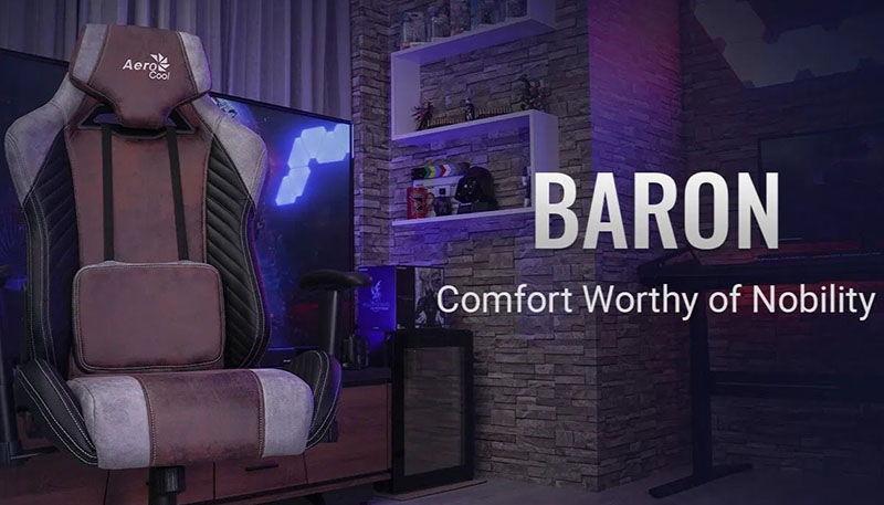 Обзор игрового кресла Aerocool Baron: быть всегда на высоте