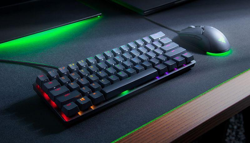 Обзор компактной игровой оптической клавиатуры Razer Huntsman Mini