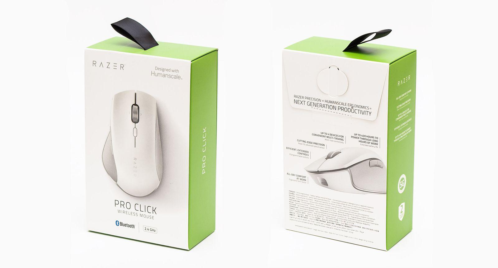 Мышка Razer Pro Click. Фото 24