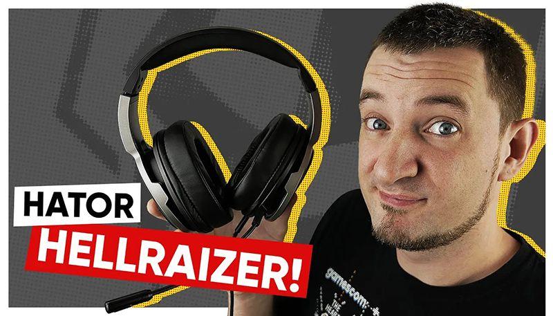 Новые наушники c топовым микрофоном! Hator Hellraizer!