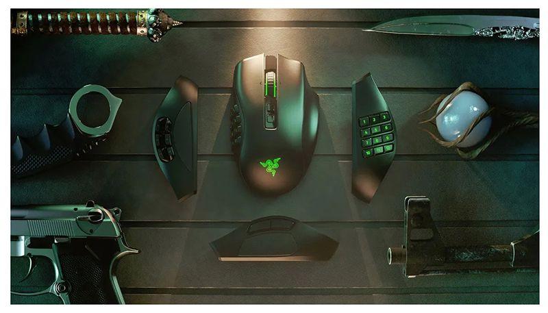 Razer Naga Pro - единственная мышь для ММО!
