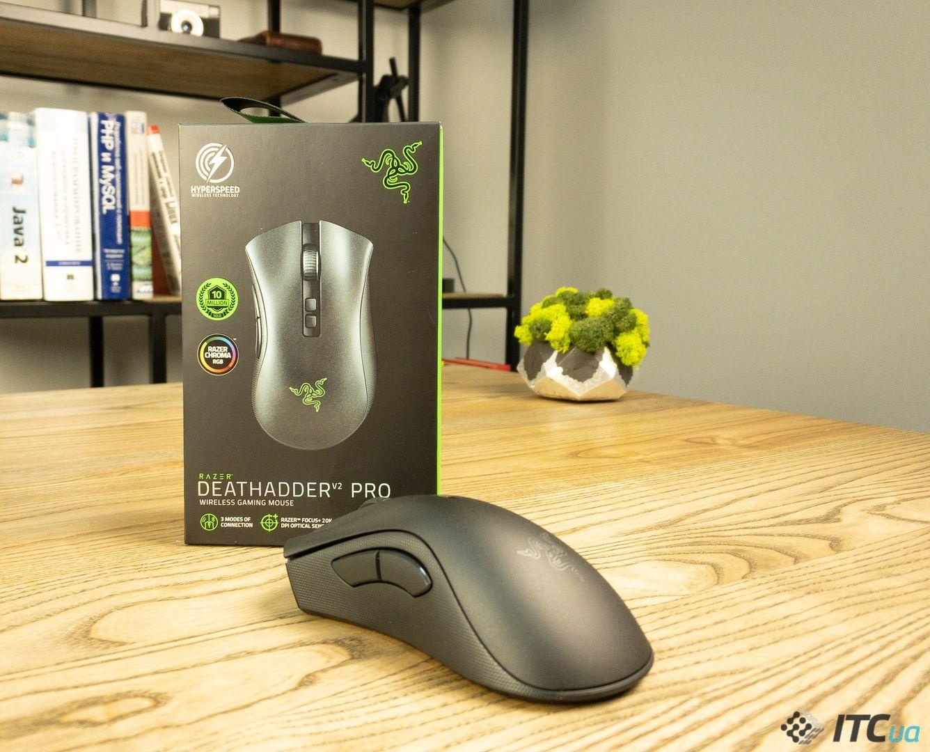 Мышка Razer DeathAdder V2 Pro. Фото 1