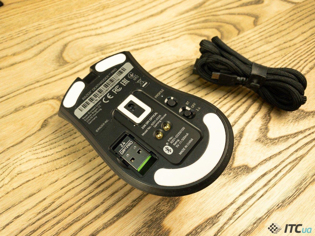 Мышка Razer DeathAdder V2 Pro. Фото 7