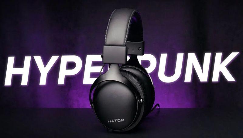 Новый топ от Hator — гарнитура Hyperpunk