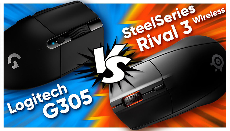 Logitech G305 VS SteelSeries Rival 3 Wireless!