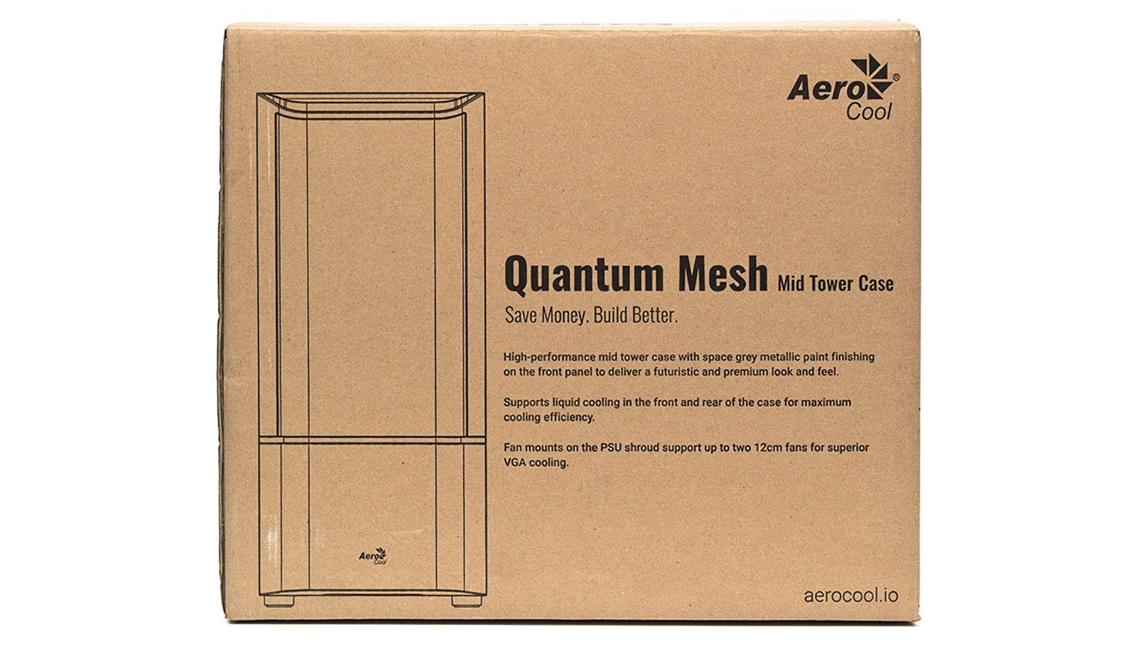 Корпус Aerocool Quantum Mesh. Фото 2