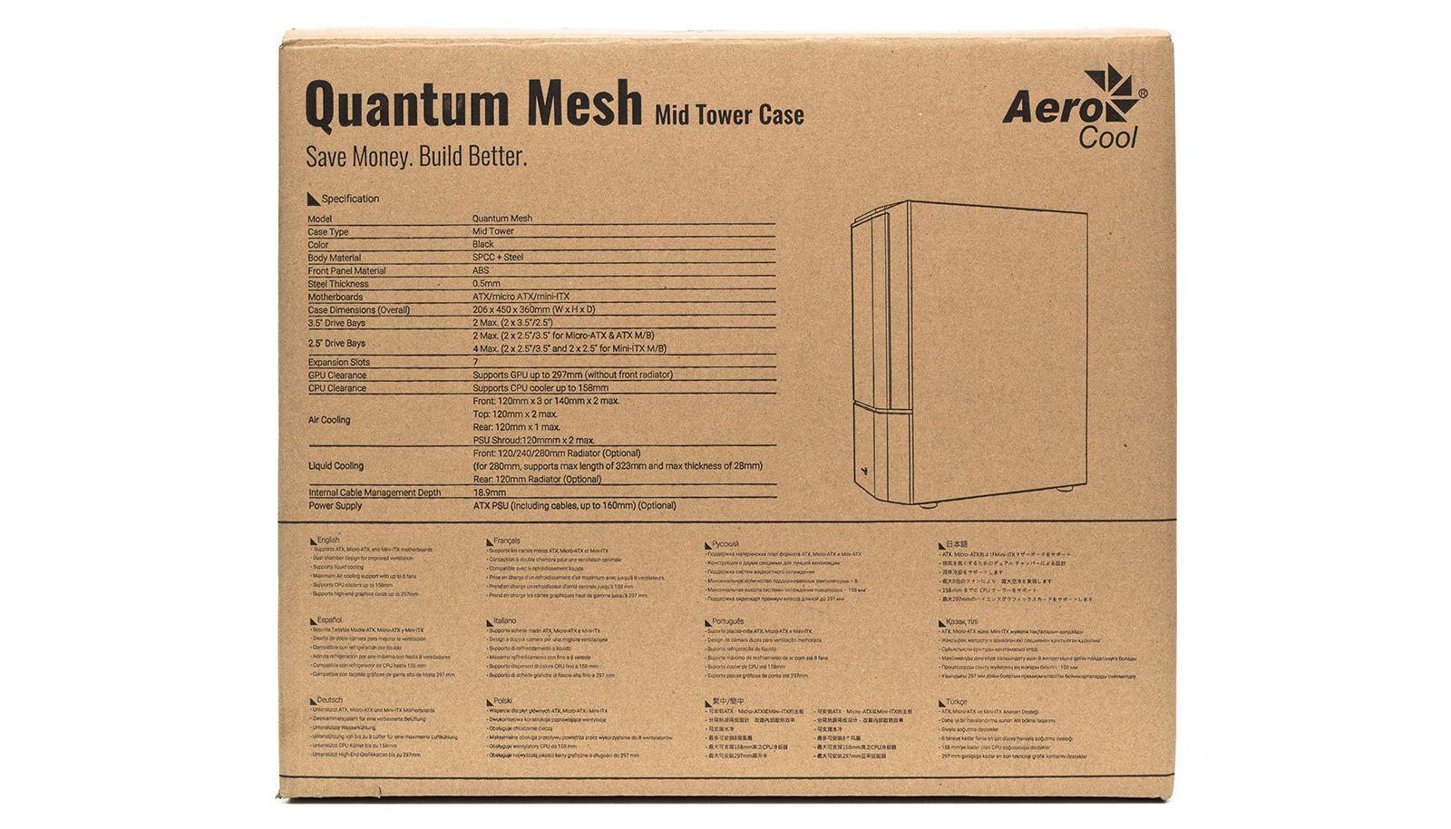 Корпус Aerocool Quantum Mesh. Фото 3