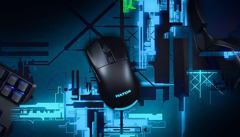 Игровая мышь Hator Pulsar — максимум легкости